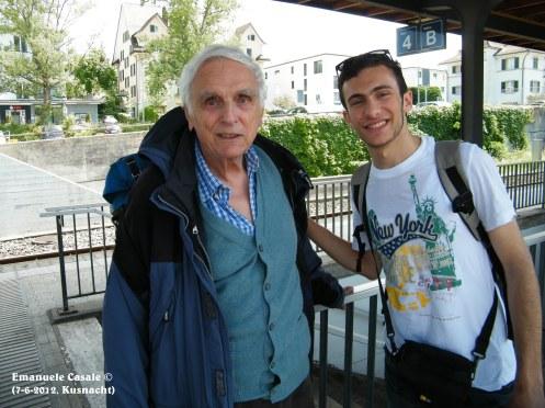 Io e Dieter Baumann, Kusnacht 7-6-2012