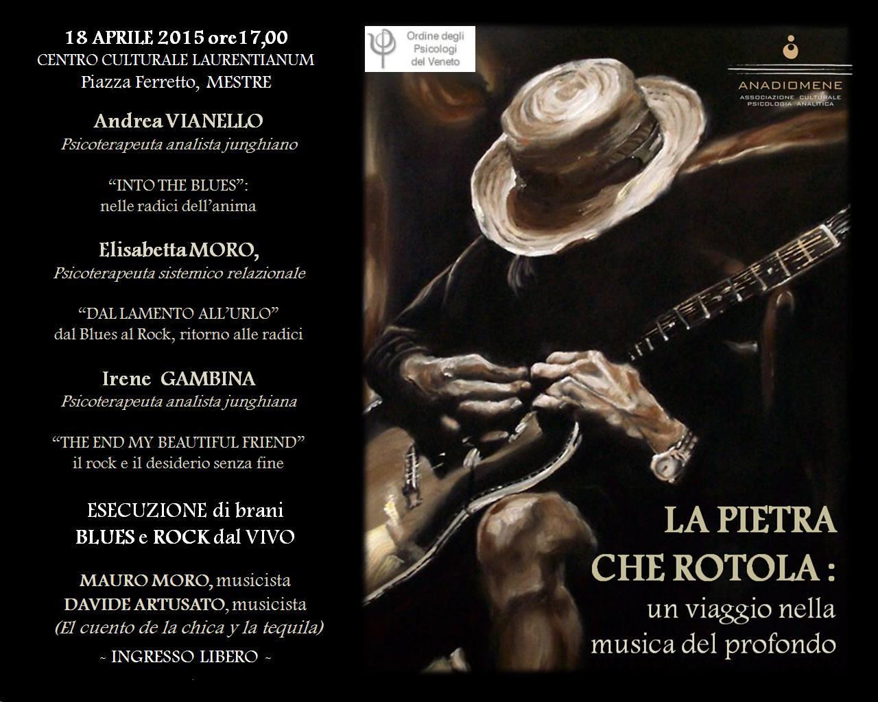 18 Aprile 2015 – Mestre –  Psicologia e Musica del profondo: EVENTO GRATUITO